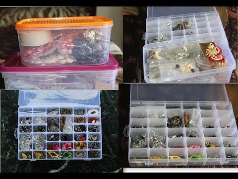 How to organise jewellery easily I Jewellery organisation ideas