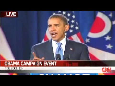 BARACK OBAMA IN TOLEDO, OHIO - THE ECONOMY