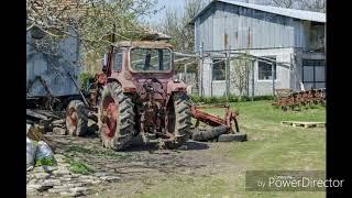 Opuszczone maszyny rolnicze