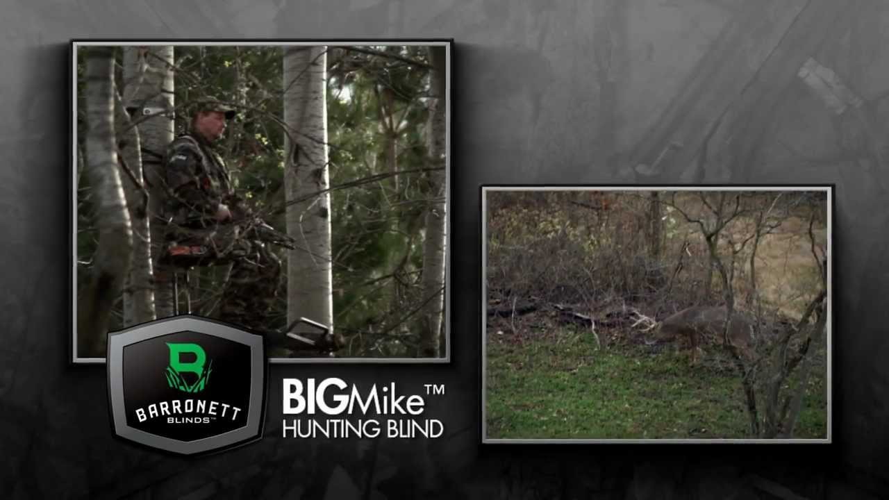 watch barronett youtube from mike blind the blinds hunting big