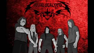 Dethklok | I tamper with the evidence at the murder site of Odin HQ