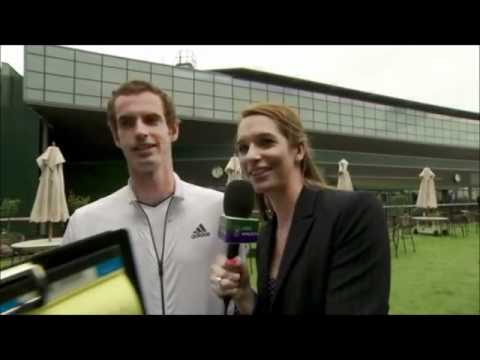 Andy Murray's Wimbledon knowledge with a special guest  Rafael Nadal
