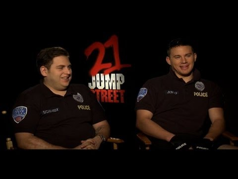 Jonah Hill and Channing Tatum Interview for 21 JUMP STREET ...21 Jump Street Wallpaper Jonah Hill