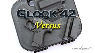 glock 42 vs g43 shield and kahr cw9
