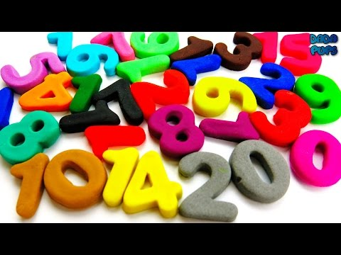 Learn To Count with Play Doh 1 to 20|Numbers 1-20| Learn Colors with Play Doh