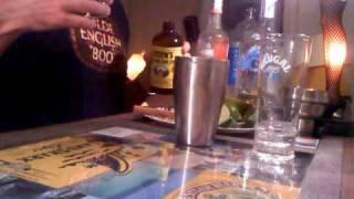 Captain Rum Dum's Mango Mojito