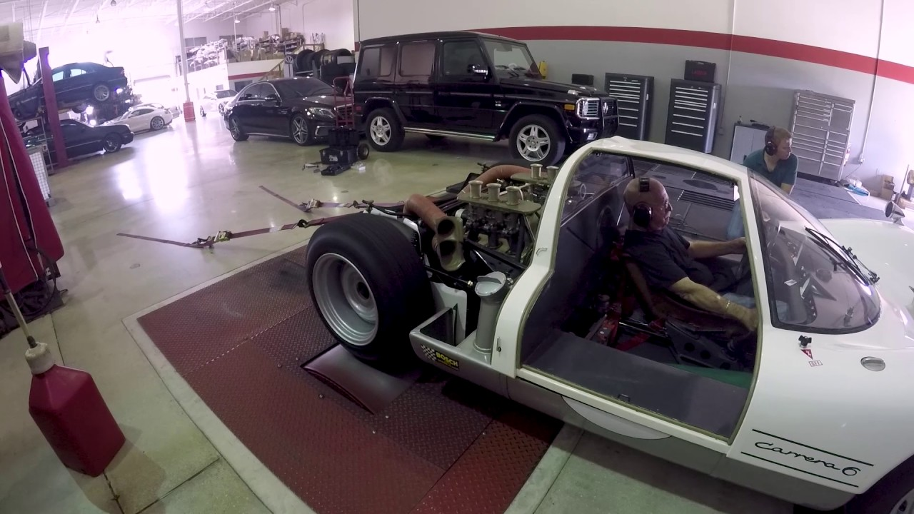 This Video Of a Porsche 906 on the Dyno is One of the Best