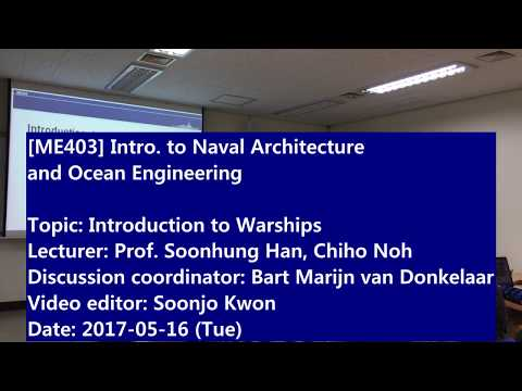 Introduction to Naval Architecture and Ocean Engineering : Introduction to Warships