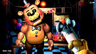 PLAY AS TOY FREDDY GUARD!? Five Nights With Mr. Hugs