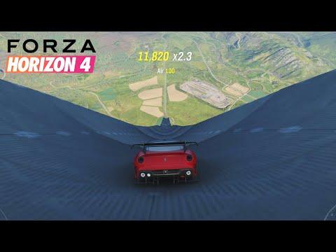 OMG je DESCENDS la plus grande RAMPE de tous les TEMPS sur FORZA HORIZON 4 !! (+Record Vitesse)
