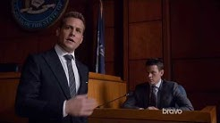 Suits Harvey Destroys Trevor during Mike's Trial