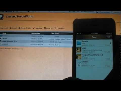 AirDisk Pro - Wireless Flash Drive App Review/Giveaway for iPhone, iPod Touch and iPad (HD)