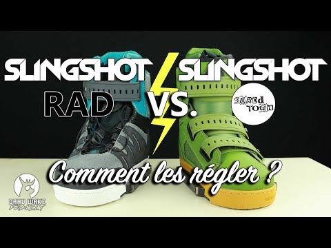 Slingshot Shredtown vs Slingshot RAD - Comment régler ses chausses ?