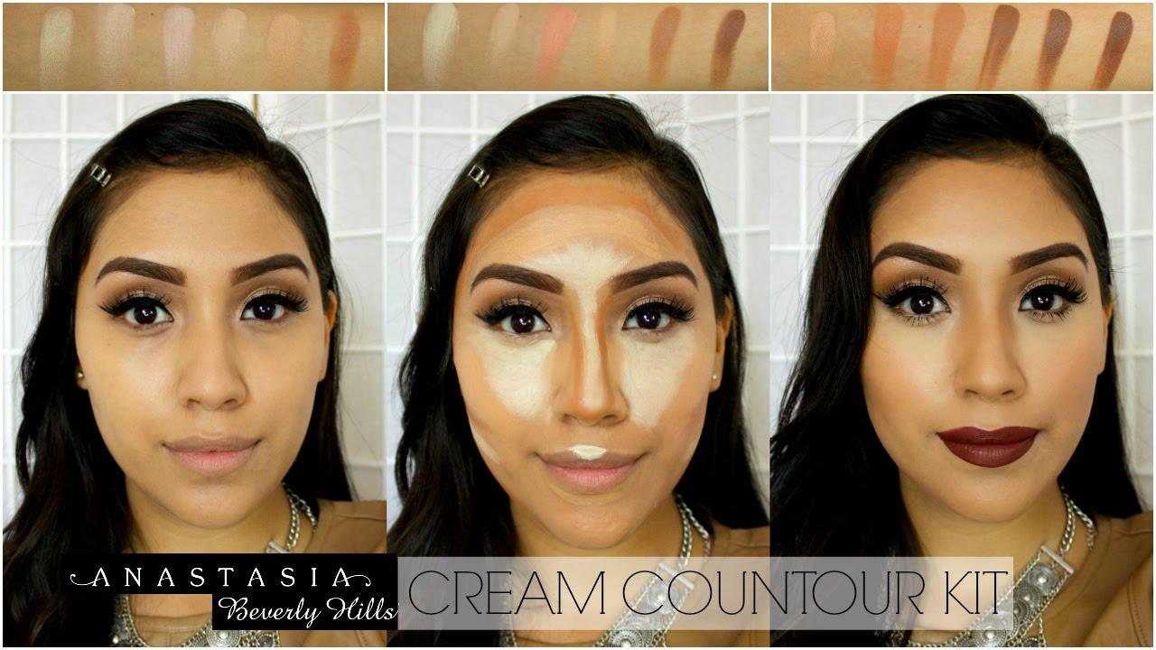 Anastasia Beverly Hills Cream Contour Kit Review Demo