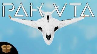 Ilyushin Il-106/PAK VTA || Roblox Plane Crazy