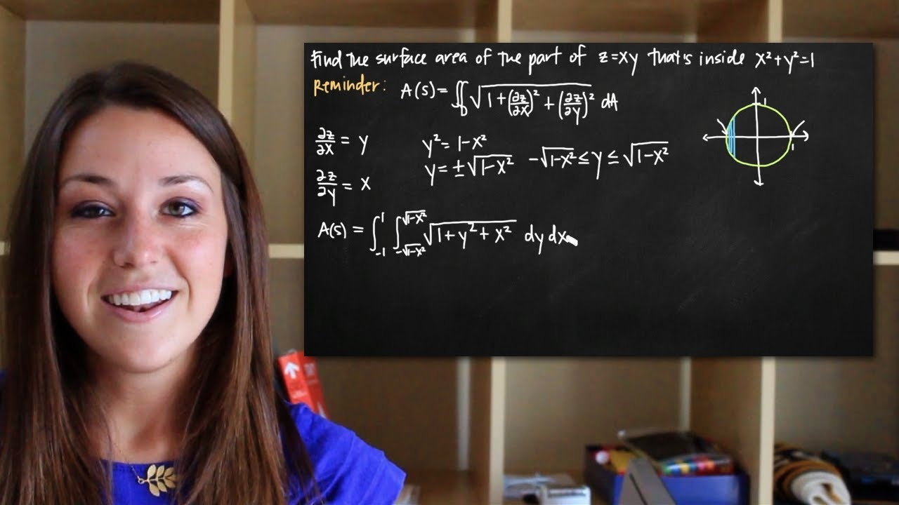 Double integrals to find surface area kristakingmath youtube double integrals to find surface area kristakingmath ccuart Image collections