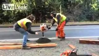 Men at Work or Men at Play