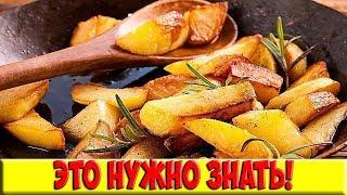 Жарим картошку правильно 6 драгоценных правил