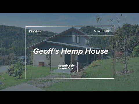 Geoff's Hemp House – Sustainable House Day 2020