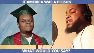 IF AMERICA WAS A PERSON WHAT WOULD YOU SAY?