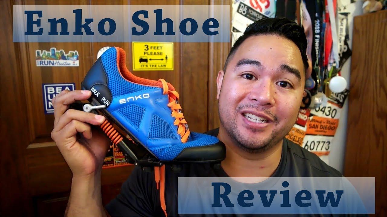 Enko Running Shoe Review - YouTube