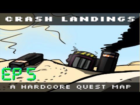 Crash Landing Episodio 5 Minecraft [HardCoreMap]