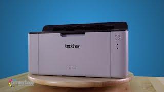 Brother HL 1110 Compact Mono Laser Printer Demonstration   printerbase.co.uk