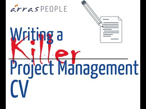 Writing A *Killer* Project Management CV