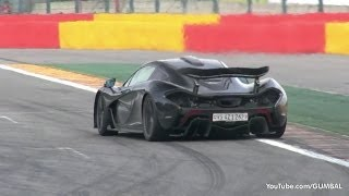 McLaren P1 - FLATOUT on the Track!