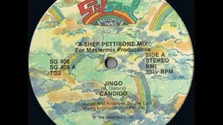 "CANDIDO. ""Jingo"". 1979. 12"" Original Shep Pettibone  Remix 1983."