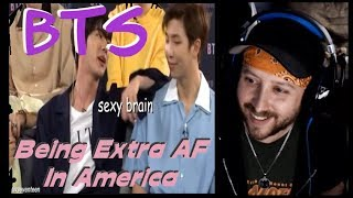 Baixar Metal Musician Reacts: BTS Being Extra AF in America (JIN IS HILARIOUS!!!)