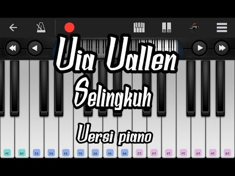 Via Vallen Selingkuh Versi Piano