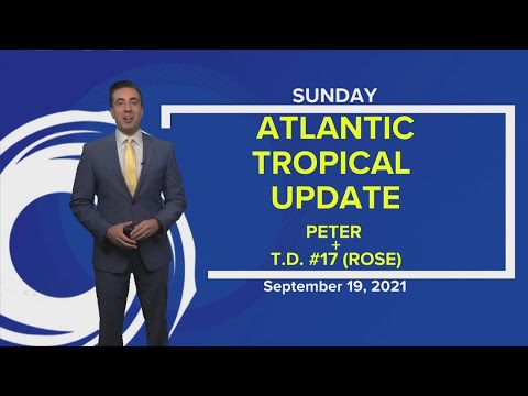 Download Tropics update: Tropical Storm Peter forms becoming 16th named storm of 2021