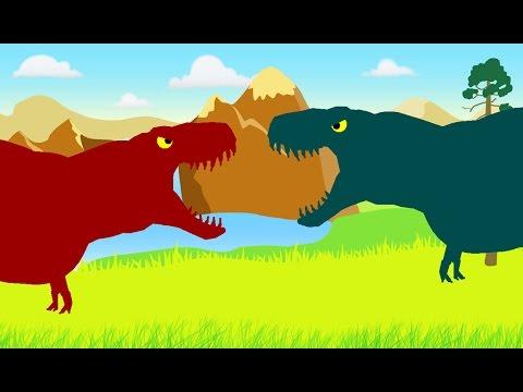 Веселые Динозаврики: Тираннозавр Рекс против Тираннозавра Рекса