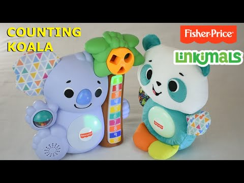 Linkimals Counting Koala From Fisher Price 2020 DEMONSTRATION