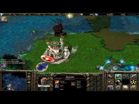 Warcraft 3 Terrania Walkthrough