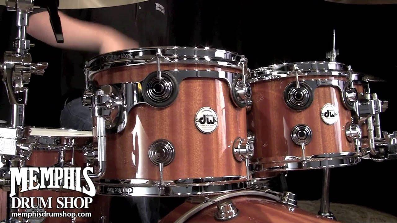 Drum Set Wallpaper Hd Dw Collector S Series Maple Mahogany Drum Set 22 8 10 12