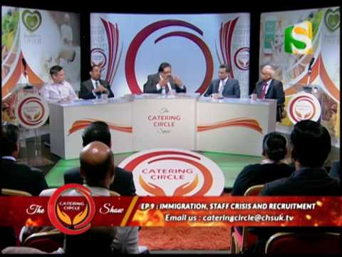 THE CATERING CIRCLE SHOW: Episode 9. Channel S, 4 Oct 16.