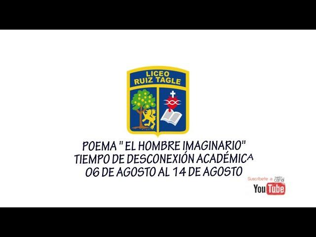 """POEMA """" EL HOMBRE IMAGINARIO"""""""