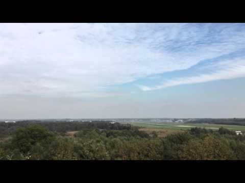 Vulcan bomber over Farnborough airport October 2015