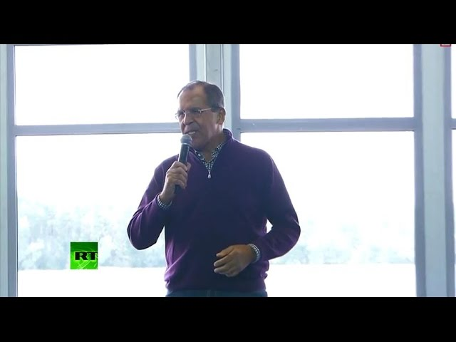 Выступление Сергея Лаврова на молодежном форуме на Селигере