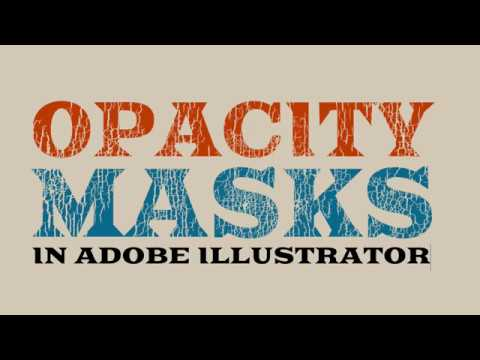 T-Shirt Texture with Opacity Masks in Adobe Illustrator