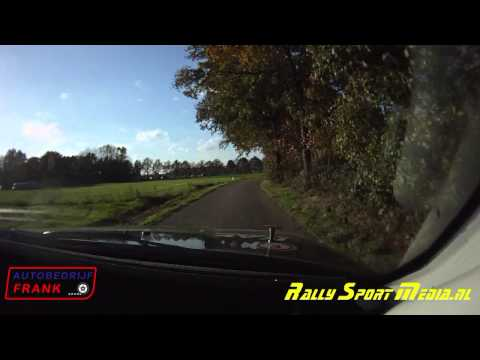 CRASH Kp 7 Bentelo Rallyteam Autobedrijf Frank Conrad Rally 2014.
