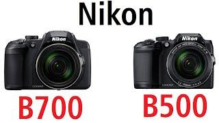 Nikon B700 vs Nikon B500