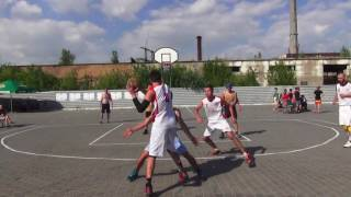 """Kherson Streetball Cup 2017"" 1/4 ""Авто - Плаза"" - ""Новая Каховка"""