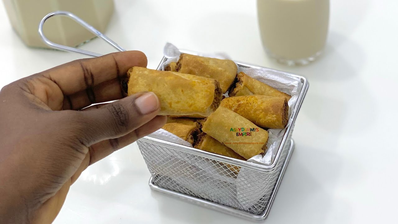 Download FOR PARTY PLANNERS & SMALL CHOPS SELLERS  ONLY | MINI FISH ROLLS