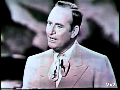 GENE AUTRY sings a medley of his greatest hits from live TV.  1953