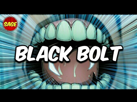 Who is Marvel's Black Bolt? The Silent King of Inhumans... Mostly.