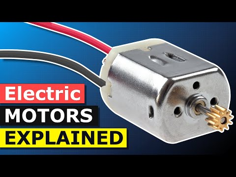 How does an Electric Motor work? DC Motor explained