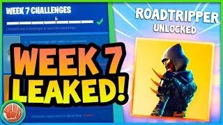 ROADTRIPPER SKIN UNLOCKEN!! TODAY'S EVENT!?! WEEK 7 LEAKED!! -Fortnite: Battle Royale